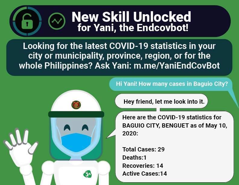 Yani the EndCovbot has unlocked a new skill!