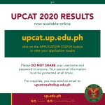 Notice to UPCAT applicants