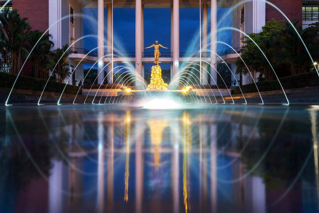 The Oblation Plaza. Photo by Eric Augustus Tingatinga.