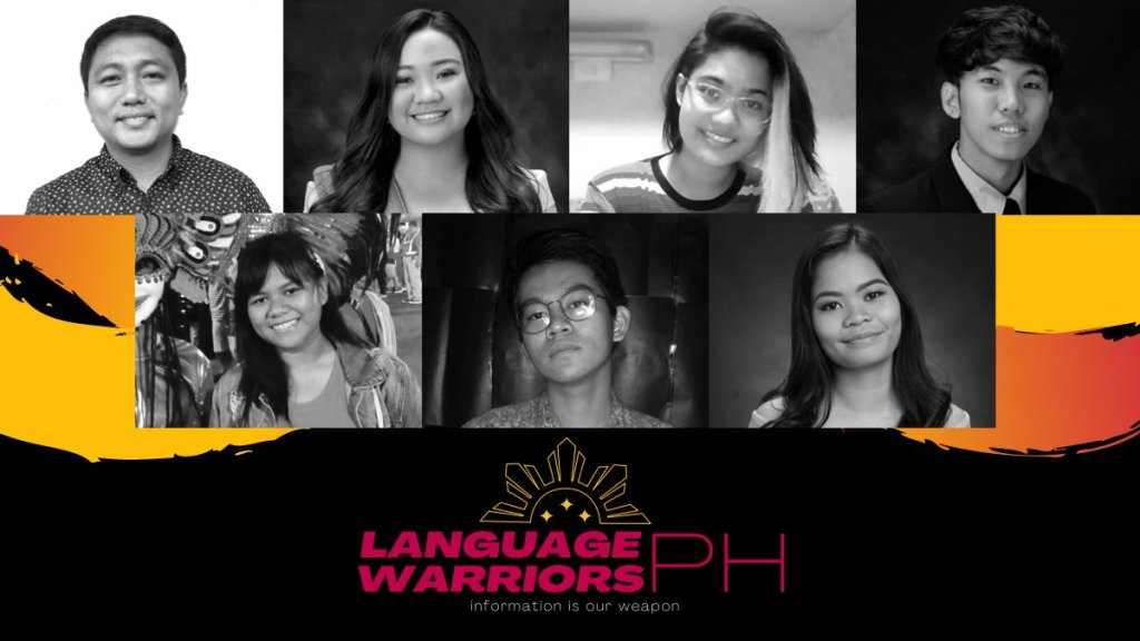 The trusty team of LWPH volunteers who collected material for the repository. Clockwise from topleft: Manuel Tamayao, Soleil Vinoya, Joey Auxilian, Sander Ayala, Yeddah Piedad, Glenn Huerto, Shiela Tamparong. Photo courtesy of LWPH.