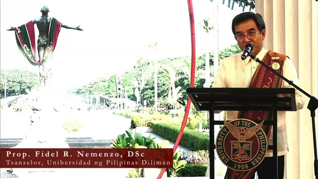 "Screenshot of UP Diliman's ""109th Pangkalahatang Pagtatapos"", live streamed via UP Diliman's official website. Replay can be viewed at the UP Diliman YouTube channel. [https://www.youtube.com/watch?v=5ySaI6IkInY]"