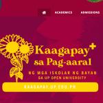 Screenshot of the UPOU website. [https://www.upou.edu.ph/home/