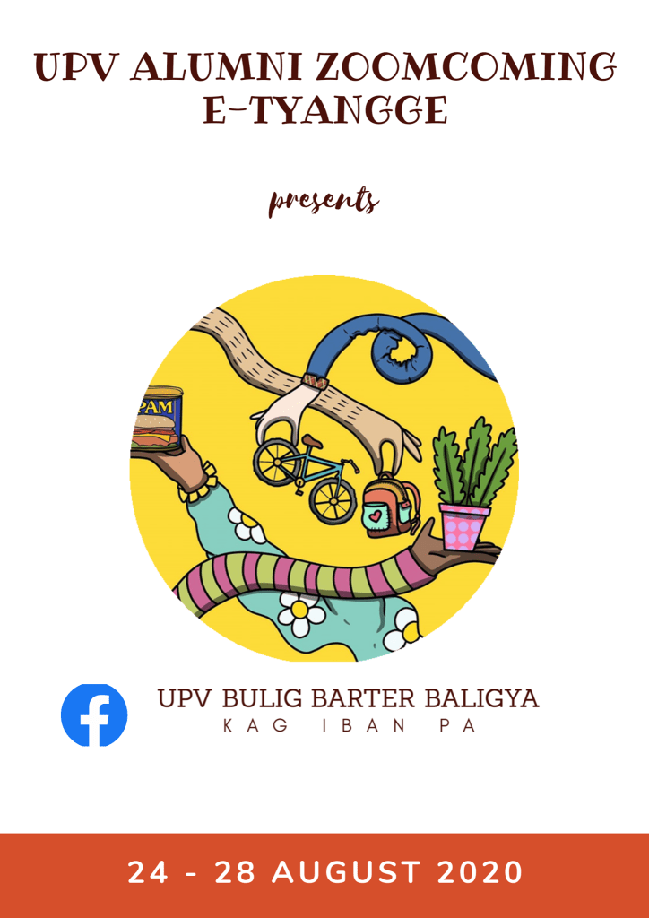 The poster for the UPV e-Tyangge by UPV Bulig Barter. Image from the UPV Office of Alumni Relations Facebook page. [https://www.facebook.com/upvoar]