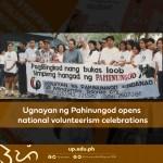 Ugnayan ng Pahinungod opens national volunteerism celebrations