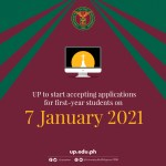 UP to start accepting applications for first-year students on Jan. 7