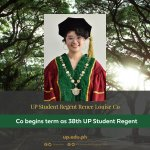Co begins term as 38th UP Student Regent