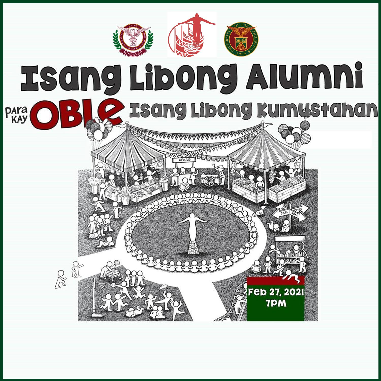 """""""Isang Libong Alumni Para Kay Oblé, Isang Libong Kumustahan!"""" on February 27"""