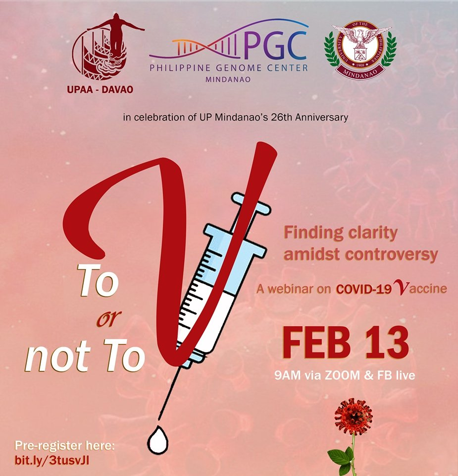 UP alumni and experts to hold webinar on COVID-19 vaccination