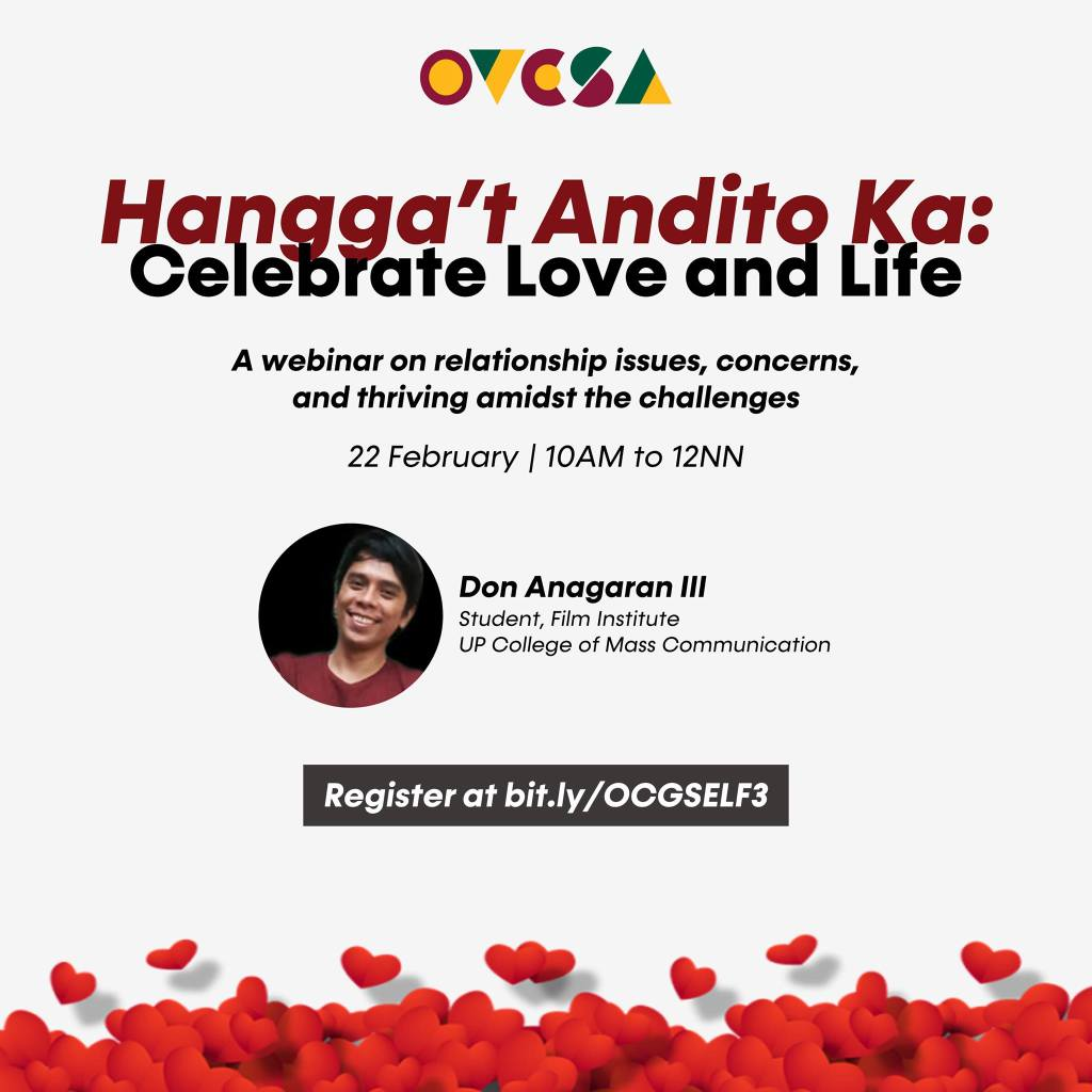 UP students invited to join 2 webinars on issues affecting mental health
