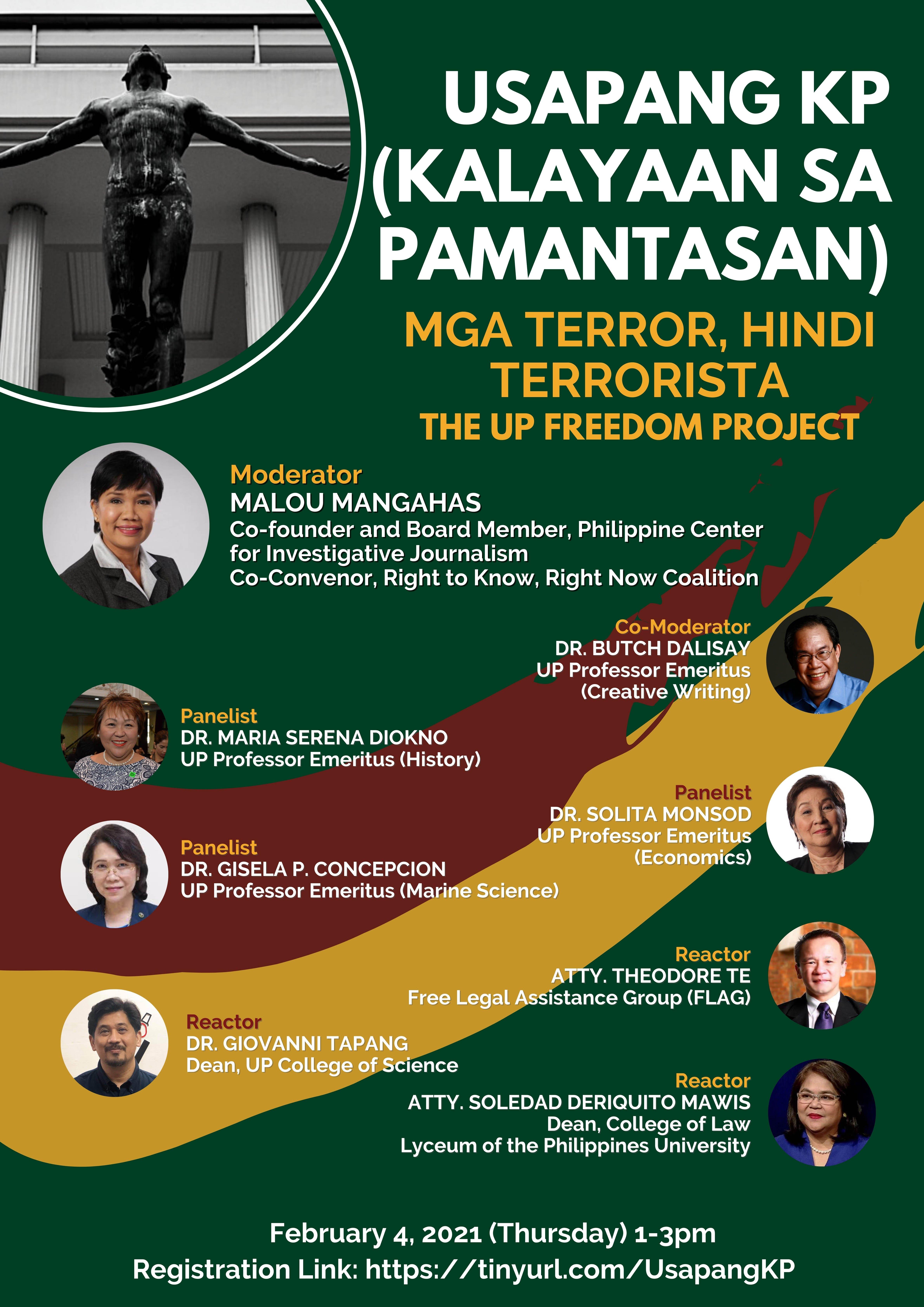 """""""Usapang KP: Mga Terror, Hindi Terrorista"""""""